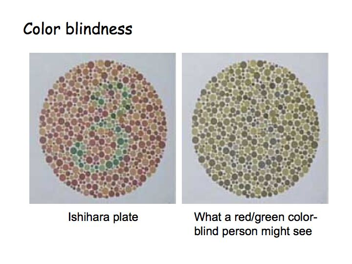 how to explain the color red to a blind person