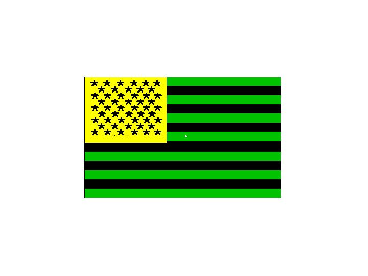 Chromatic Adaptation Like Light Can Give Rise To Dramatic Aftereffects For Example Adapt This Green Black And Yellow Flag 60 Secs