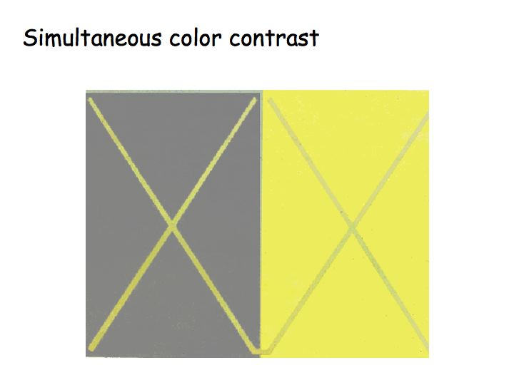 Color Contrasts Gray Images